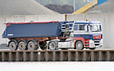 LKW Baustofftransport